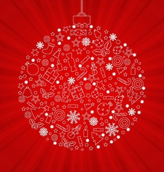 Christmas Discount Poster vector