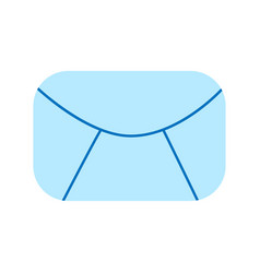 email icon mail symbol flat graphic vector image