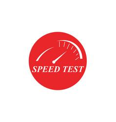 Faster logo template icon design vector