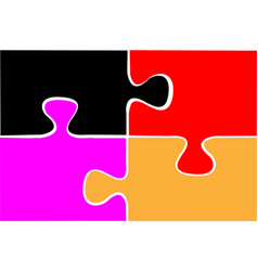 game puzzle icon design vector image