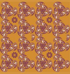 Tajik ornaments seamless pattern vector