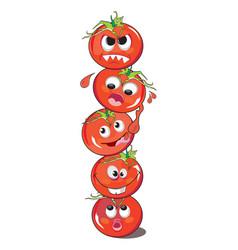 Tomato or solanum lycopersicum vector