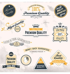 Vintage badges3 vector