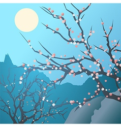 spring hollow vector image vector image
