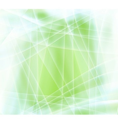 Blurry abstract green vector image
