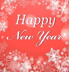 Congratulatory Christmas Background vector image vector image
