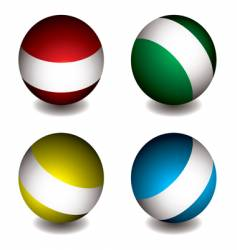 white band orb vector image vector image