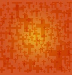 background dark orange color halloween vector image