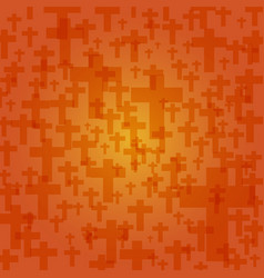 background dark orange color halloween with vector image