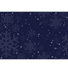 Christmas Snowflakes vector image