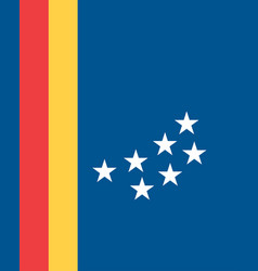 flag durham in north carolina is a state usa vector image