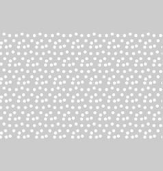 Light gray background scattered dots polka vector