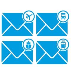 Mail transportation vector