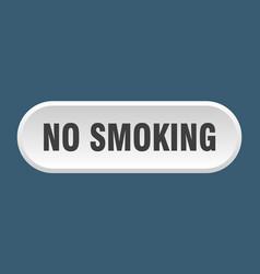 No smoking button no smoking rounded white sign vector