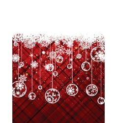 Red christmas background EPS 8 vector