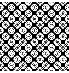 Seamless pattern texture with circles vector