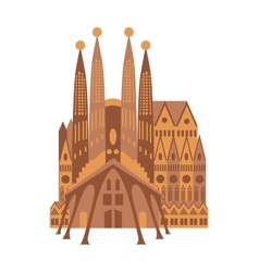 Spanish Cathedral vector image