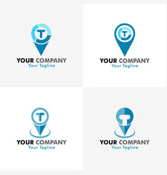 Tracking logo vector