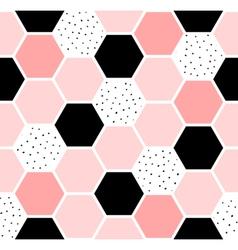 Hexagon Seamless Pattern vector image vector image