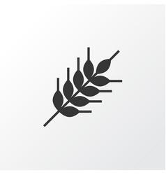 wheat icon symbol premium quality isolated grain vector image