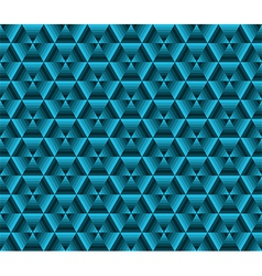 Abstrack color background blue triangles vector