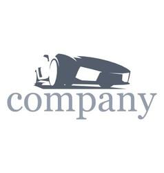 logo cars company vector image