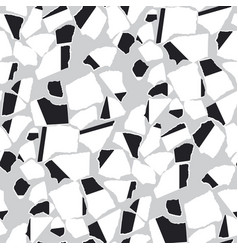 Ripped paper pieces flat seamless pattern vector