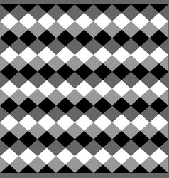 Squares abstract repeatable geometric monochrome vector