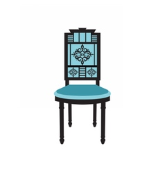 Vintage Chair furniture vector