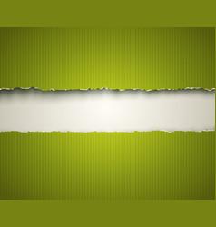 vintage green background vector image