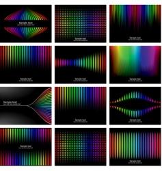 rainbow bark colour vector image