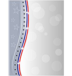 American flag stars abstract background frame vector