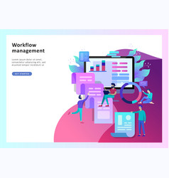 concept of business office vector image