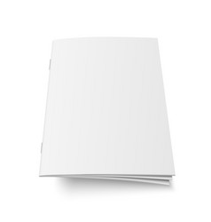 Mock up book or magazine vector