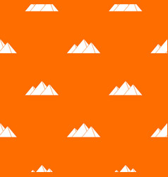 Pyramids in giza pattern seamless vector