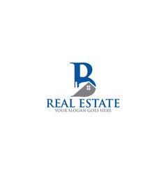 Real-estate-logo-design vector