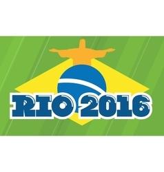 Rio de janeiro 2016 august games vector