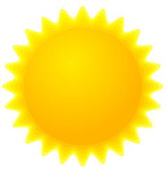 Sun clip-art vector