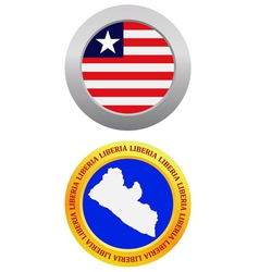 Button as a symbol liberia vector