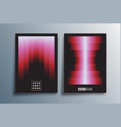 minimal gradient design for poster flyer vector image