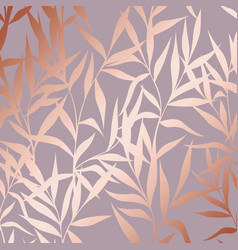 pattern with branches with imitation surface of vector image