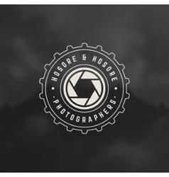 Photographer Design Element vector image