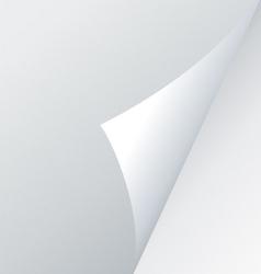 fold corner vector image vector image