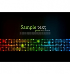 abstract colorful background with square vector image vector image