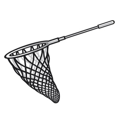 fishing net vector image vector image
