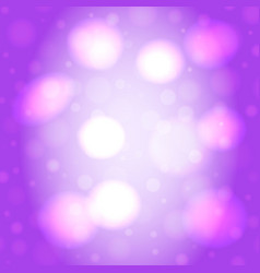 Abstract blur background with lights vector