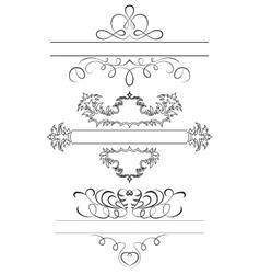 Calligraphic Set vector