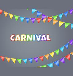 carnival vector image