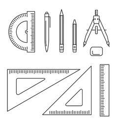 Drawing instrument vector