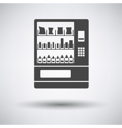 Food selling machine icon vector
